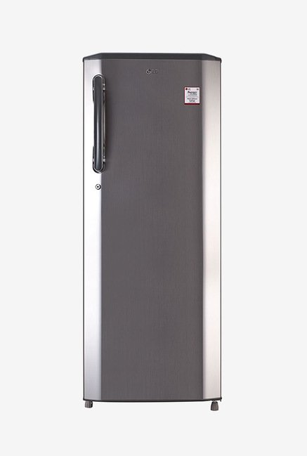 LG GL-B281BPZX 270L 4S Single Door Refrigerator, Shiny Steel