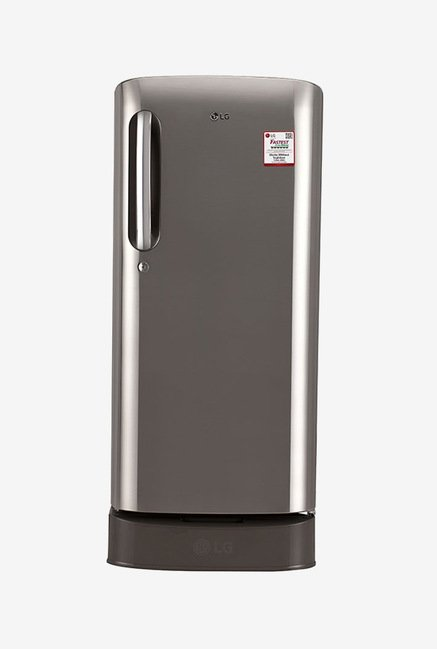 LG GL-D201APZW 190 Ltr 3 Star Refrigerator (Shiny Steel)