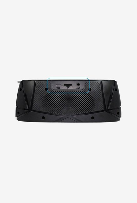 Amkette Trubeats Sonix T30 Bluetooth Speaker (Black/Grey)