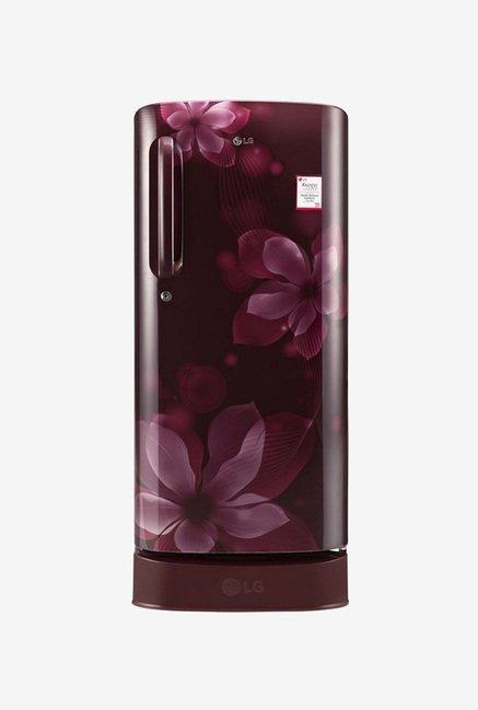 LG GL-D201ASOX 190 Ltr 4 Star Refrigerator (Scarlet Orchid)