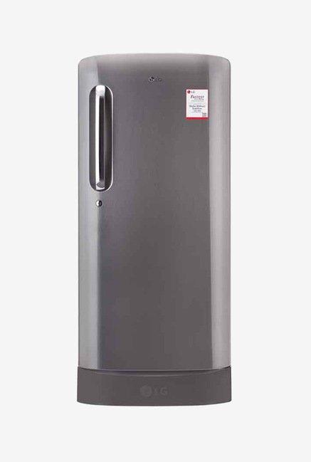 LG GL-D221APZW 215 Ltr 3 Star Refrigerator (Shiny Steel)