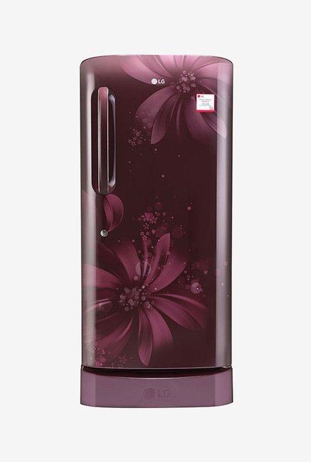 LG GL-D221ASAW 215 Ltr 3 Star Refrigerator (Scarlet Aster)