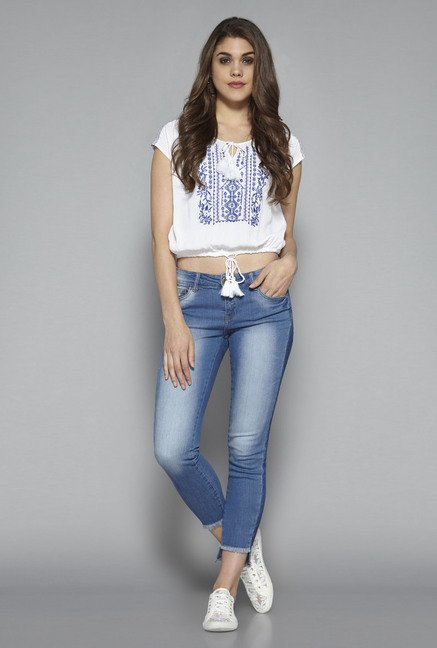 Nuon by Westside Blue High low Jeans