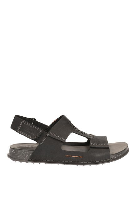 a40c9bcde Buy Clarks Keften Bay Black Back Strap Sandals for Men at Best Price ...