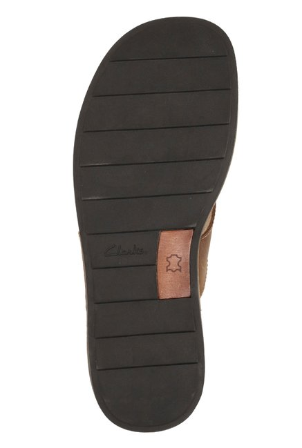1c74cb45b Buy Clarks Lynton Post Brown Thong Sandals for Men at Best Price ...