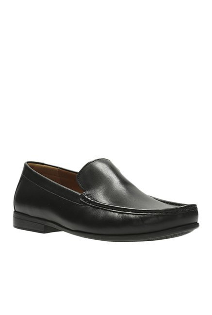Buy Clarks Claude Plain Black Loafers for Men at Best Price @ Tata CLiQ