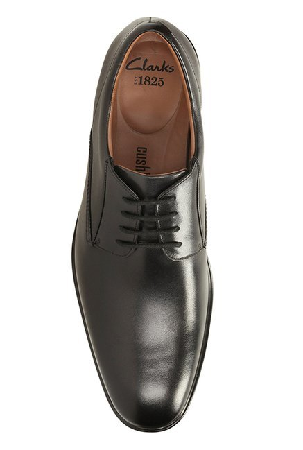 61a506bd Buy Clarks Gosworth Walk Black Derby Shoes for Men at Best Price ...