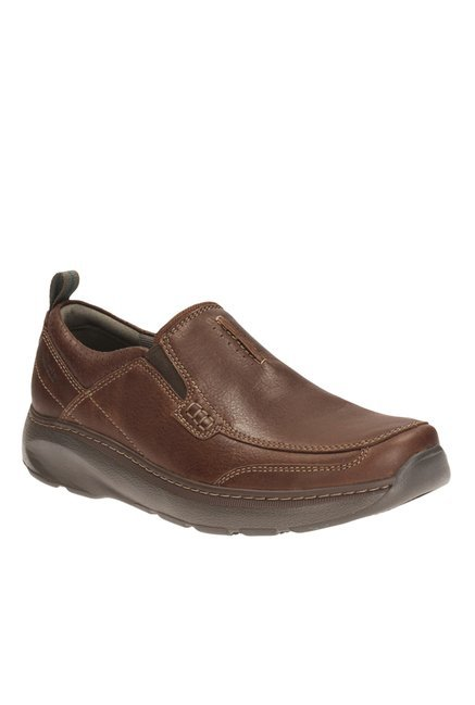 Buy Clarks Charton Step Brown Slip Ons for Men at Best Price