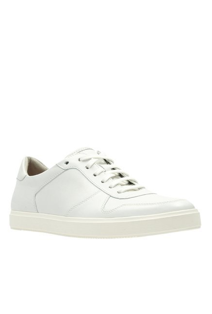 3ea068fb2ea1 Buy Clarks Calderon Speed White Sneakers for Men at Best Price   Tata CLiQ