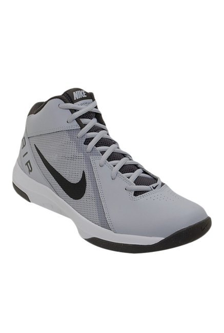 98412a89263 Buy Nike The Air Overplay IX Grey   Black Basketball Shoes for Men at Best  Price   Tata CLiQ