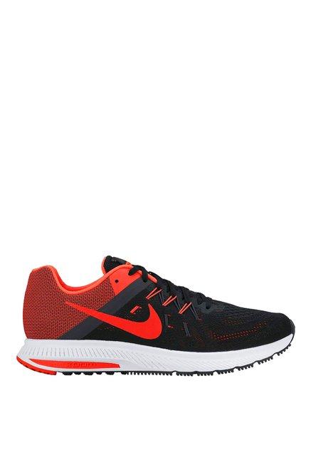 bac04e8972dd ... usa nike zoom winflo 2 black red running shoes 0f728 dee40