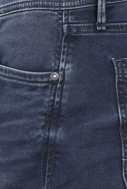 Jack & Jones Dark Blue High Rise Jeans