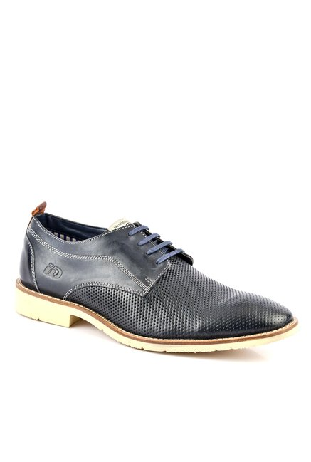ID Navy Derby Shoes