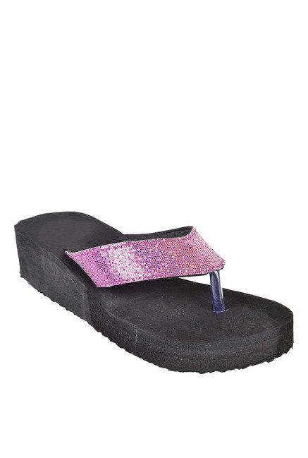 6138f2191b21 Buy Ethnoware Purple Thong Sandals for Women at Best Price ...