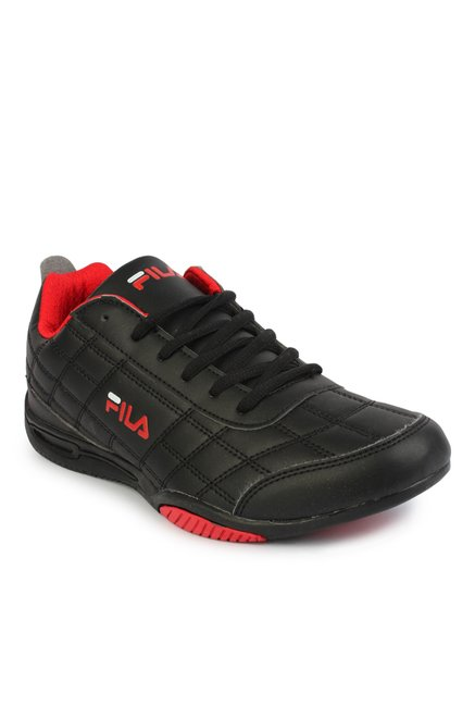 bb06cb3f58f2 Buy Fila Sterling III Black   Red Training Shoes for Men at Best Price    Tata CLiQ
