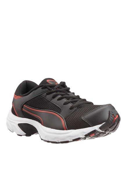 Buy Puma Splendor DP Black   Ribbon Red Running Shoes for Men at Best Price    Tata CLiQ 14ac65ffc