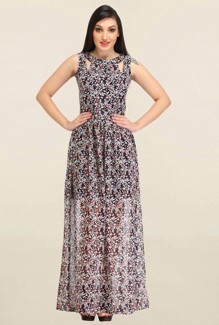 Buy Cation Black Printed Dress for Women Online   Tata CLiQ 3f0c0dfa7