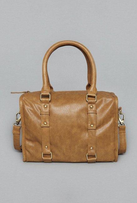 Buy Westside Tan Ekta Satchel Bag for Women Online   Tata CLiQ 17c48b66d0