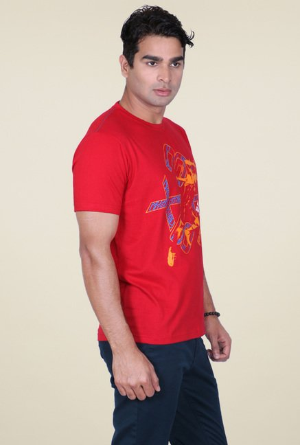 Proline Red Cotton T-Shirt