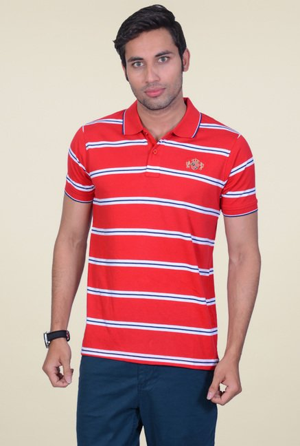 Proline Red Half Sleeves T-Shirt