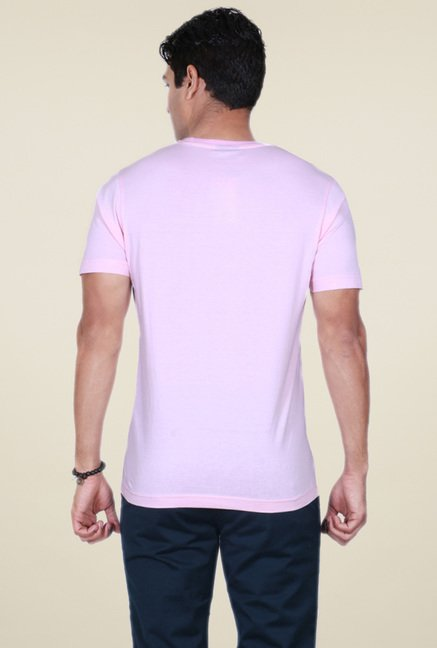 Proline Pink Half Sleeves T-Shirt
