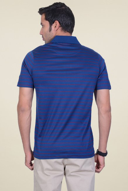 Proline Royal Blue Half Sleeves T-Shirt