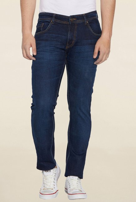 Globus Blue Rinse Washed Jeans