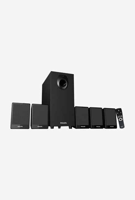 Philips DSP 2800 5.1 Channel Speaker System (Black)