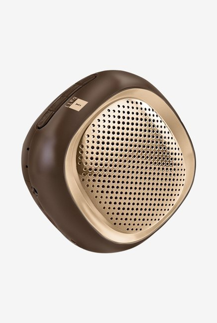 iBall Musi Cube BT20 Portable Bluetooth Speaker (Gold)