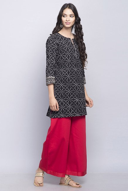 Fabindia Red Solid Palazzo