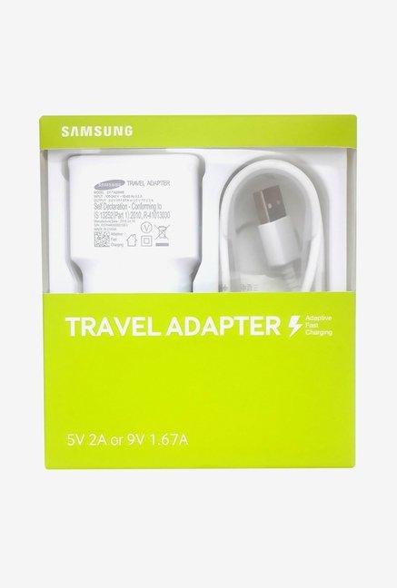 Samsung EP TA20IWEUGIN 2.0 Amp Travel Adapter  White