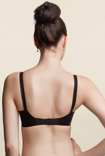 Libertina Black Duchess Non Padded Bra (Pack Of 3)