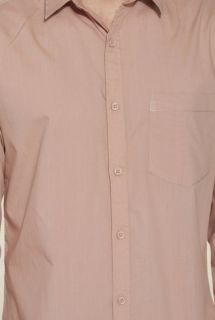 Globus Beige Regular Fit Shirt