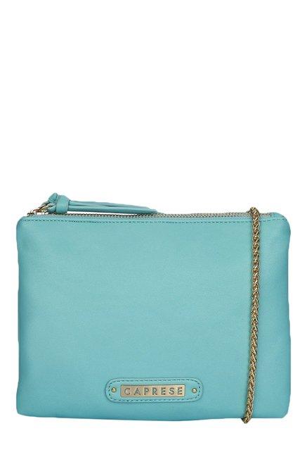 Caprese Candy Aqua Solid Sling Bag