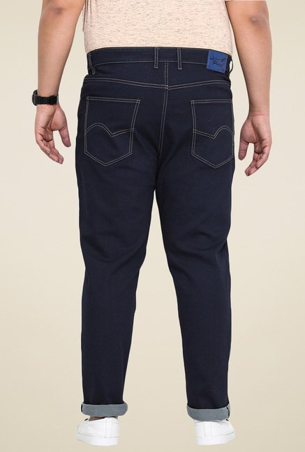John Pride Navy Slim Fit Jeans