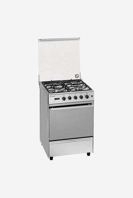 Faber 4 Burner FCR 52L 4B BEG Gas Cooking Range (Silver)