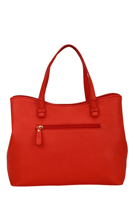 Caprese Catelyn Orange Solid Handbag