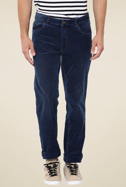 Turtle Dark Blue Slim Fit Jeans