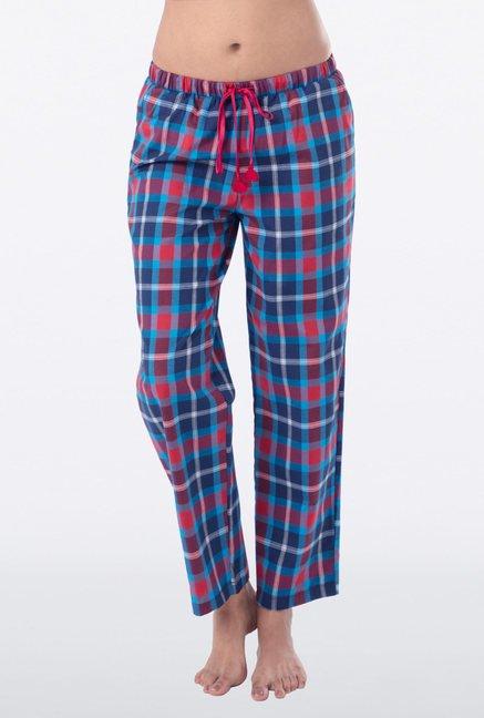 PrettySecrets Blue & Red Checks Pyjama
