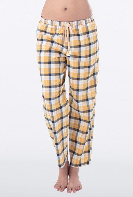 PrettySecrets Yellow Checks Pyjama