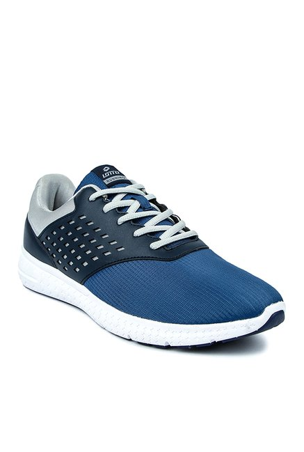 Buy Lotto Tread Navy Blue Running Shoes