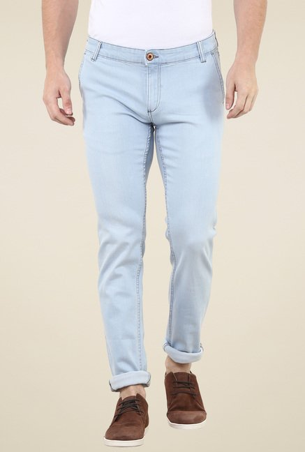 celio* Light Blue Slim Fit Jeans