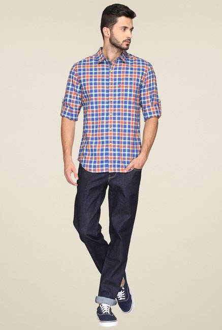 Levi's Red & Blue Checks Shirt