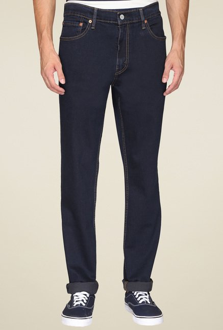 Levi's Navy Mid Rise Jeans