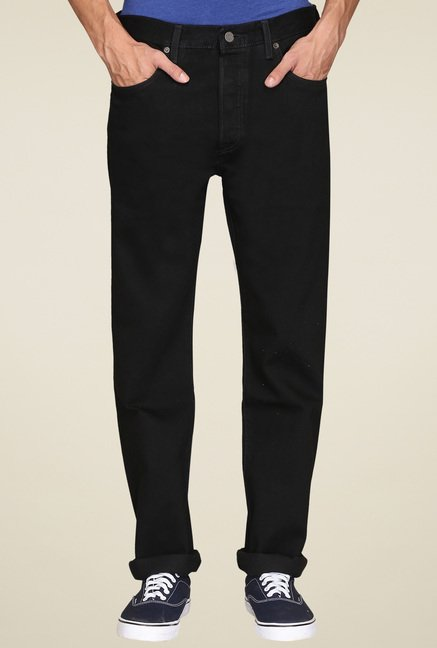 Levi's Black Slim Fit Jeans