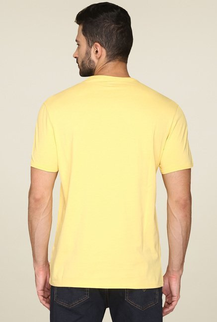Levi's Yellow Crew Neck T-Shirt