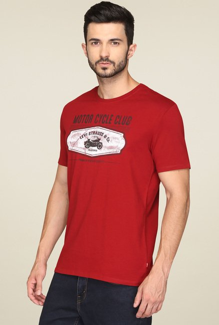 Levi's Red Short Sleeves T-Shirt