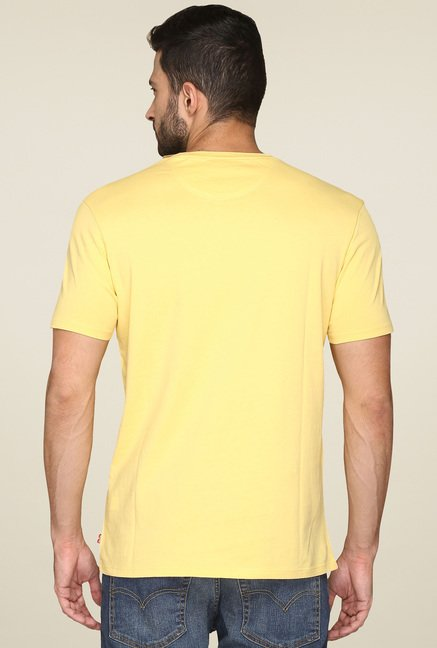 Levi's Yellow Short Sleeves T-Shirt