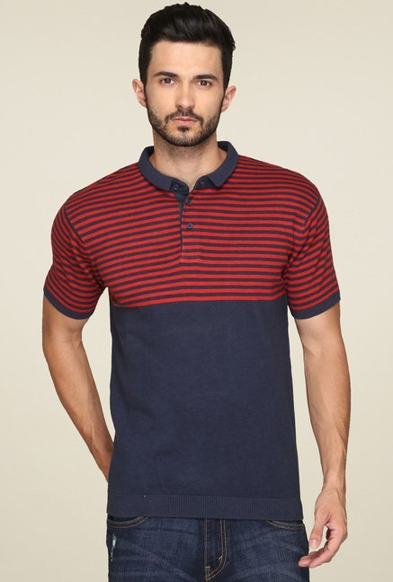 Levi's Navy Short Sleeves Polo T-Shirt