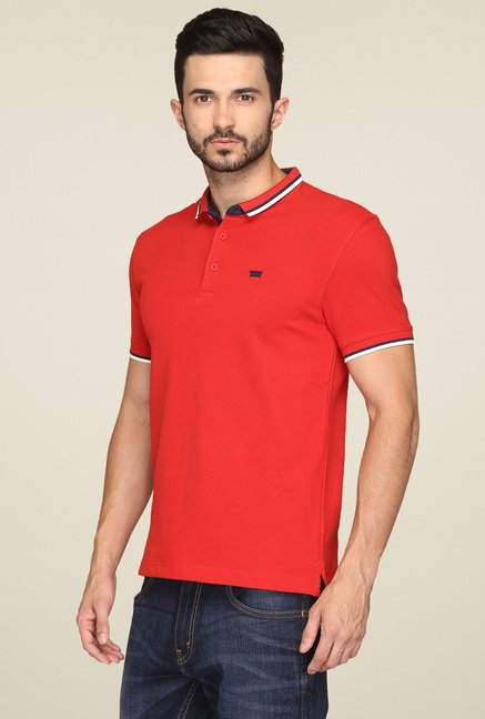 Levi's Red Regular Fit T-Shirt